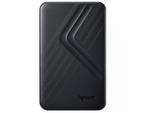 2,0 ТБ (USB3.1) 2,5-дюймовый сверхтонкий портативный жесткий диск Apacer AC236, черный (AP2TBAC236B-1)