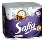 Туалетная бумага SOFIA 3 слоя 18.2м*8 Aroma violet