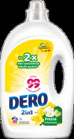 Жидкое моющее средство Dero 2в1 Белый Ирис и Ромашка, 2 л.