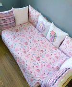 Комплект постельного белья в кроватку Pampy Flowers