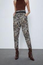Брюки ZARA Принт леопард 4043/057/330.