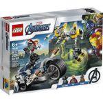 LEGO Marvel Мстители: Атака на спортбайке, арт. 76142