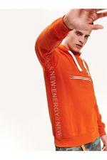 Трикотаж TOP SECRET Оранжевый/белый SBL0687PO