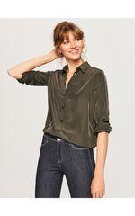 Блуза RESERVED Зеленый tw883-67x