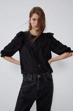 Блуза ZARA Чёрный 3067/127/800