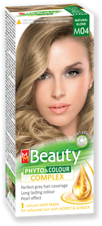 Краска для волос,SOLVEX MM Beauty, 125 мл., M04 - Натурально русый