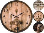 Часы настенные круглые 33cm, H4.2cm