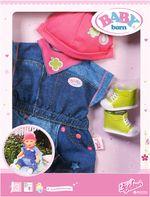 Джинсовая коллекция для куклы Baby Born, код 42254