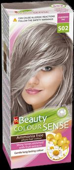 Vopsea p/u păr, SOLVEX MM Beauty Sense, 125 ml., S02 - Blond sidefat