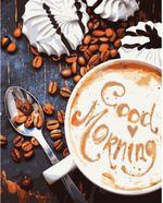 Картина по номерам 40x50 Кофе. Good Morning VA1143