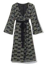 Платье RESERVED Черный с блестками vf332-mlc