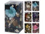 Цветы ароматизированные в коробке 200gr 20X10cm, в ассорти
