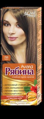Краска для волос, ACME Рябина Avena, 100 мл., 723 -  Графит