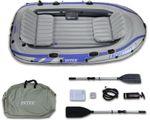 Надувная лодка Intex 68324 Excursion 4 Set