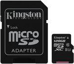 {u'ru': u'\u0424\u043b\u044d\u0448 \u043a\u0430\u0440\u0442\u0430 \u043f\u0430\u043c\u044f\u0442\u0438 Kingston SDCS/128GB, microSD Class10 UHS-I + SD adapter', u'ro': u'Card de memorie flash Kingston SDCS/128GB, microSD Class10 UHS-I + SD adapter'}