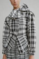 Блуза ZARA Белый/черный 2547/334/064