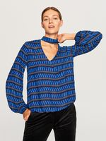 Блуза RESERVED Синий vf448-55x