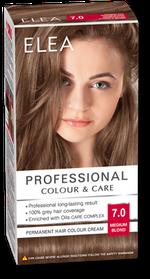 Vopsea p/u păr, SOLVEX Elea, 138 ml., 7.0 - Blond mediu