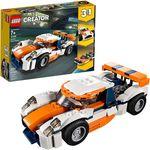 """LEGO Creator  """"Mașina de curse portocalii"""", art. 31089"""