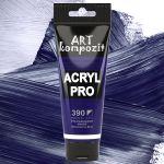 Краска акриловая Art Kompozit, (390) Ультрамарин синий, 75 мл