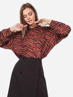 Блуза Tom Tailor Коричневый/черный tom tailor 1016712