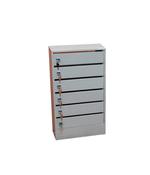 Ящик промес, почтовый, подъездный (6 секций)