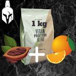 Комплексный протеин для веганов ( Vegan Protein Blend ) - Какао и апельсин - 1 KG