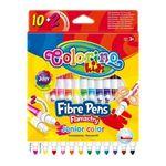 Фломастеры Fibre Pens Junior 12 цв. Colorino