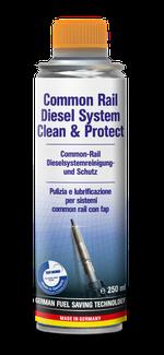 Common-Rail Diesel System Clean  & Protect   Curățarea și protejarea unui sistem diesel cu injecție directă