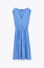 Платье ZARA Светло синий 5580/627/428