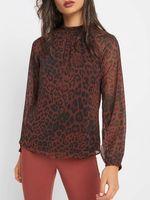 Блуза ORSAY Коричневый/черный 690114 orsay