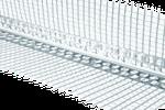 Профиль угловой алюминиевый с сеткой 2500 мм