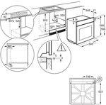 Электрический духовой шкаф Electrolux EOF3C00X