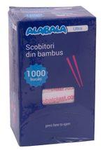 Зубочистки индивидуально упакованы в бумагу, 1000 шт / набор