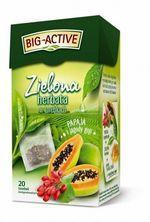 Чай зеленый Big Active with Papaya & Goji Berries, 20 шт