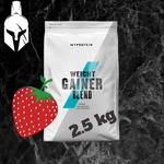 Смесь Weight Gainer - Kлубника - 2.5 KG