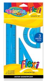 Набор гнущихся линеек Flexi 15 cm Colorino