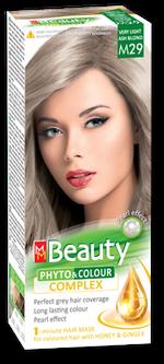 Краска для волос,SOLVEX MM Beauty, 125 мл., M29 - Блондин пепельный