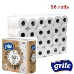 GRITE - Туалетная бумага Ecological 3 слоя 4 рулона 14,85м 14/14