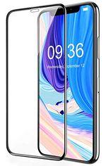 Sticlă de protecție Cover'X pentru iPhone XS Max 3D Zero Frame Black