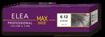Краска для волос,SOLVEX Elea Max, 100 мл., 6.12 - Матовый блонд