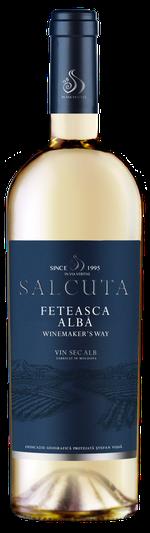 Вино Salcuta WW Feteasca Alba, белое сухое, 0.75 Л