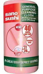 Универсальная тряпка в рулоне Sano Roll Pink (40 шт)