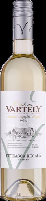Вино Feteasca Regală Château Vartely IGP, белое сухое, 2020 0.75 Л
