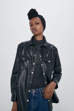 Блуза ZARA Чёрный 4387/025/800
