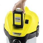 Промышленный пылесос Karcher WD 3 Battery