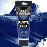 Краска акриловая Art Kompozit, (371) Кобальт синий тёмный 75 мл