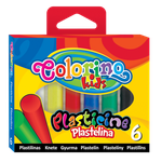Пластилин cтандартный 6 цв. 100 гp Colorino