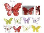 Бабочка на прищепке 34Х25cm