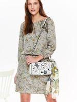 Платье TOP SECRET Зеленый с принтом ssu2139